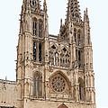 Burgos Cathedral Spain by Rudi Prott