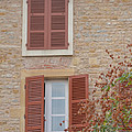 Rust Coloured Shutters by Cheryl Miller