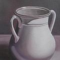 Burgundy Amphora by Anna Ruzsan