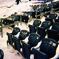 Buried Gillette Stadium Seats by Mike Martin