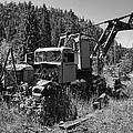 Burke Idaho Logging Truck 2 by Daniel Hagerman