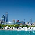 Burnham Harbor And The Chicago Skyline by Kristopher Kettner