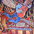Burnin' Blue Spirit by Robert Ponzio