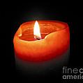 Burning Candle by Elena Elisseeva