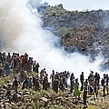 Burning Contraband Goods, Ethiopia by Brian Gadsby