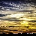 Burning Skies by Edward Khutoretskiy
