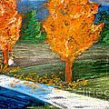 Burning Trees by Ryan Burton
