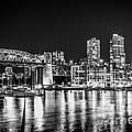 Burrard Bridge At Night by Sabine Edrissi