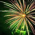4th Of July Fireworks 6 by Howard Tenke