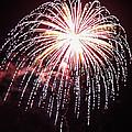 4th Of July Fireworks 9 by Howard Tenke