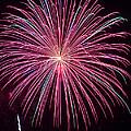 4th Of July Fireworks 24 by Howard Tenke