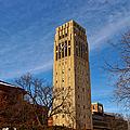 Burton Memorial Tower by Rachel Cohen
