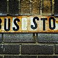 Bus Stop by Jeff Burton