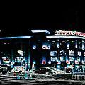 Busch In Neon by Kelly Awad