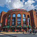 Busch Stadium Clouds by David Haskett II
