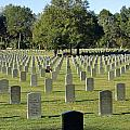 Bushnell National Cemetary by Laurie Perry
