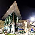 Business Building At Night by Jon Cody