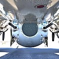 Business End Of A Ball Turret by Gordon Elwell