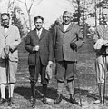Business Leaders Play Golf by Underwood Archives