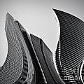 Business Skyscrapers Abstract Conceptual Architecture by Michal Bednarek