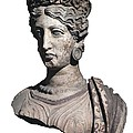 Bust Of A Woman. 4th C. Bc by Everett
