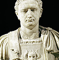 Bust Of Emperor Domitian by Anonymous