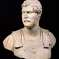 Bust Of Emperor Hadrian by Anonymous