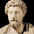 Bust Of Marcus Aurelius by Anonymous