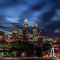 Busy Charlotte Night by Chris Austin