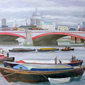 Busy Scene At Blackfriars by Terry Scales