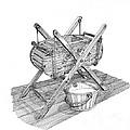 Butter Churn Circa 1822 by Jack Pumphrey