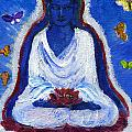 Butterflies Dream Of Buddha by Wendy Le Ber