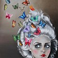 Butterflies In The Thoughts by Rebecca Tecla