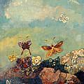Butterflies by Odilon Redon