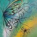 Butterfly 5 by Reina Cottier