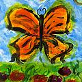 Butterfly And Dragonfly by Tracy W Smith