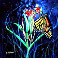 Butterfly At Work by Ruth Bodycott