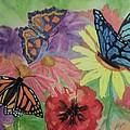 Butterfly Garden by Ellen Levinson