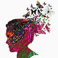 Butterfly Hair by Gillian Singleton