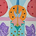 Butterfly Kisses And Ladybug Hugs by Om Art Studio Dean Walther