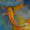 Butterfly Koi by Michael Creese