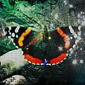 Butterfly Magick by Absinthe Art By Michelle LeAnn Scott