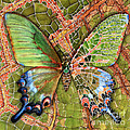 Butterfly Mosaic 03 Elena Yakubovich by Elena Yakubovich