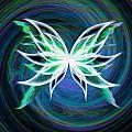 Butterfly Swirl by Teri Schuster