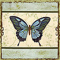 Butterfly Trio-3 by Jean PLout