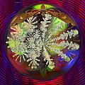 Butterfly Water Globe   by Joseph Mosley