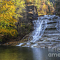 Buttermilk Falls Autumn by Colin D Young