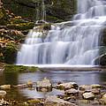 Buttermilk Falls by Eleanor Bortnick