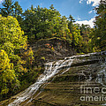 Buttermilk Falls by John Naegely