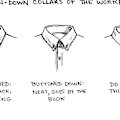 Button-down Collars Of The Work Place -- by Carolita Johnson